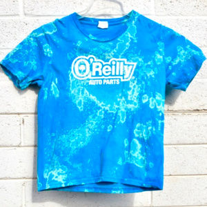 Tie Dye O'Reilly Auto Parts Tied Dyed Tee Shirt